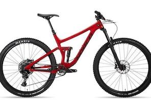 Carbon All Mountain Full Suspension Mountain Bike Rentals