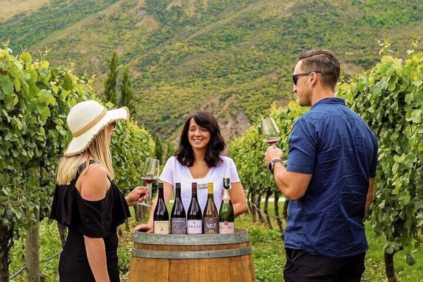 Enjoy wine tastings at three premium vineyards.