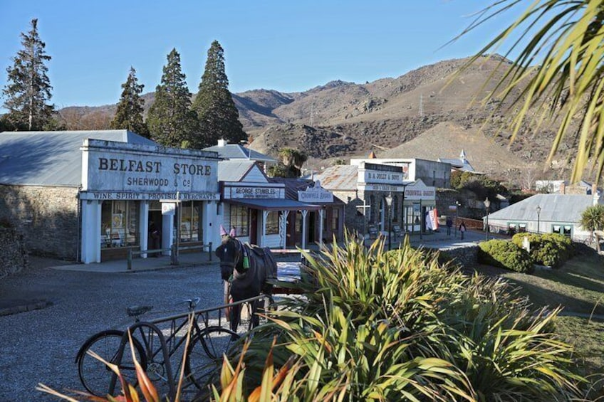 Take a stroll through the historic precinct of Old Cromwell.
