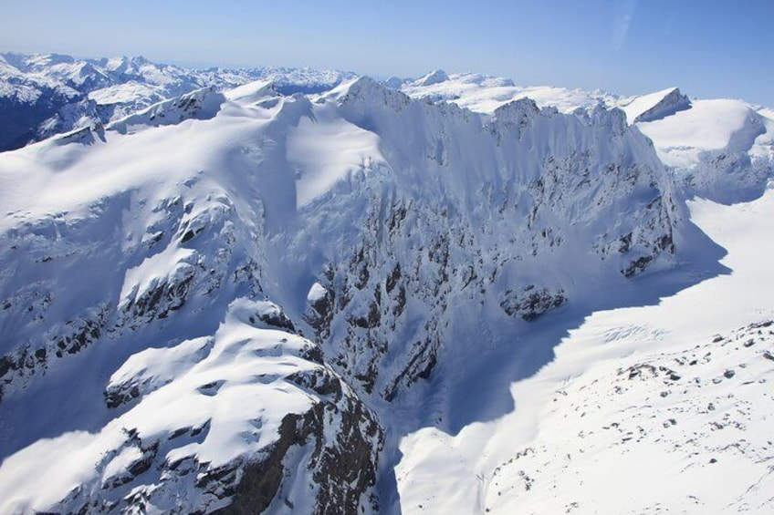 Show item 5 of 8. Siberia Experience Scenic Flight Southern Alps NZ