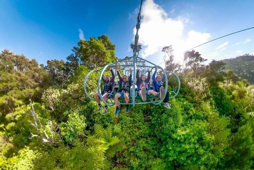 Skywire ride