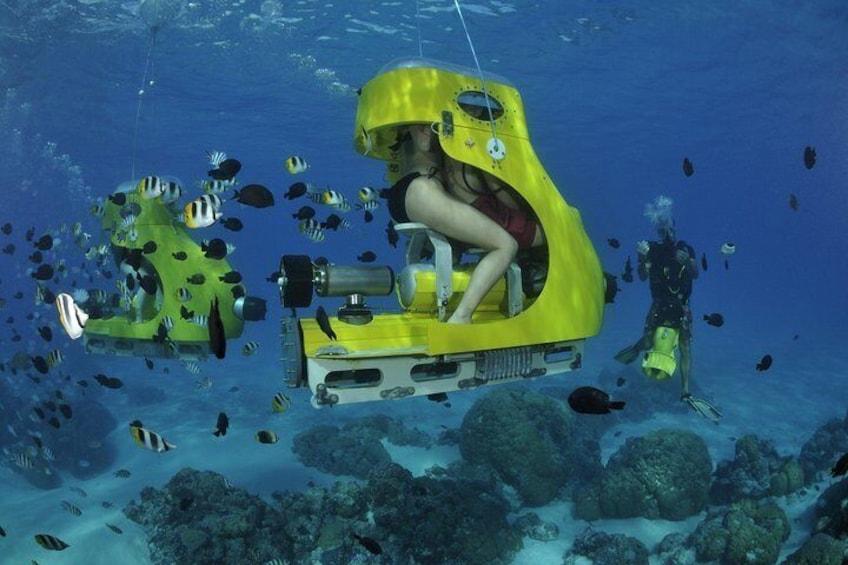 Private Tour: Underwater Scooter Bora Bora