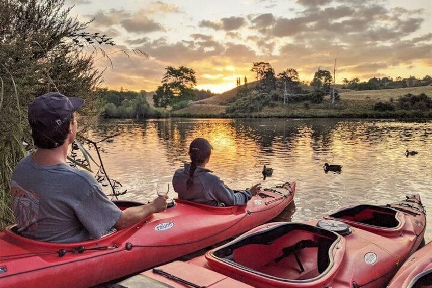 Evening Glow Worm Kayak Tour in Tauranga
