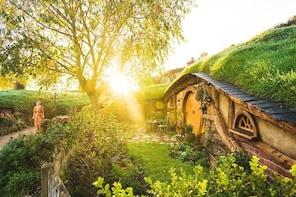 HobbitonTM Film Set Half Day Tour Including Transfers departs Rotorua
