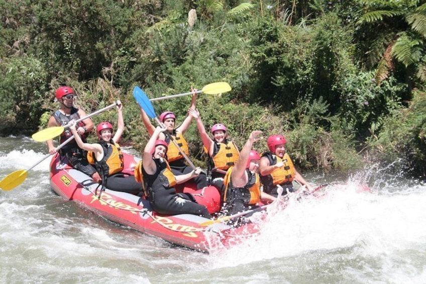 Fun bouncy rapids