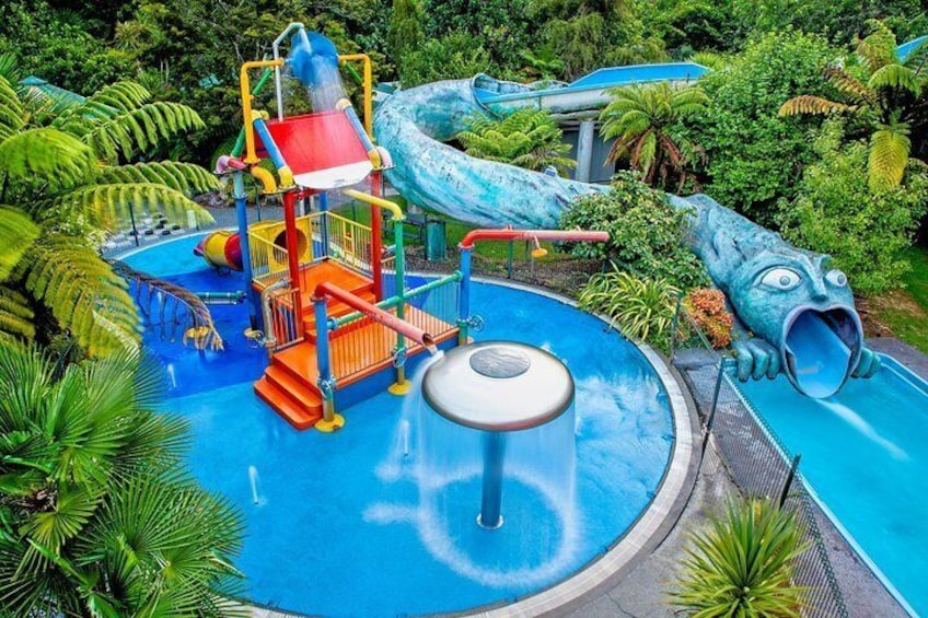 Water playground, ready for the next little visitors!