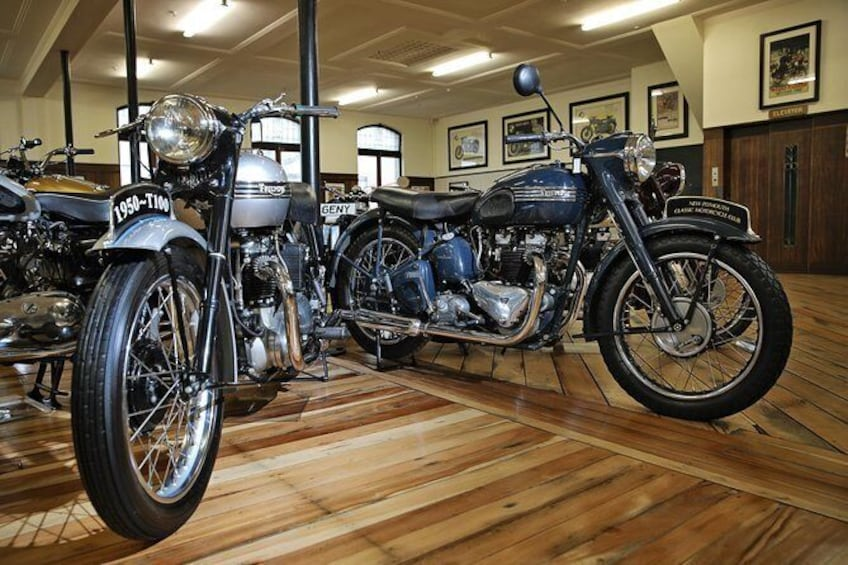 Show item 4 of 14. Classic Motorcycle Mecca - General Admission - Adult