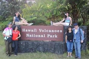 Private Kona Coast to Hilo & Volcanoes National Park Mercedes Sprinter Van