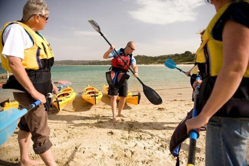 Show item 5 of 9. The Freycinet Paddle