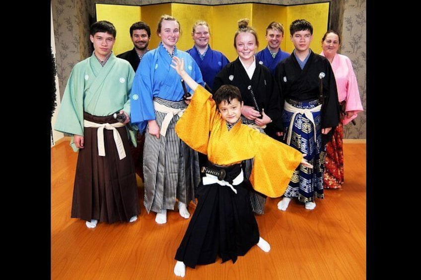 Samurai School and Show in Kyoto: Samurai for a Day