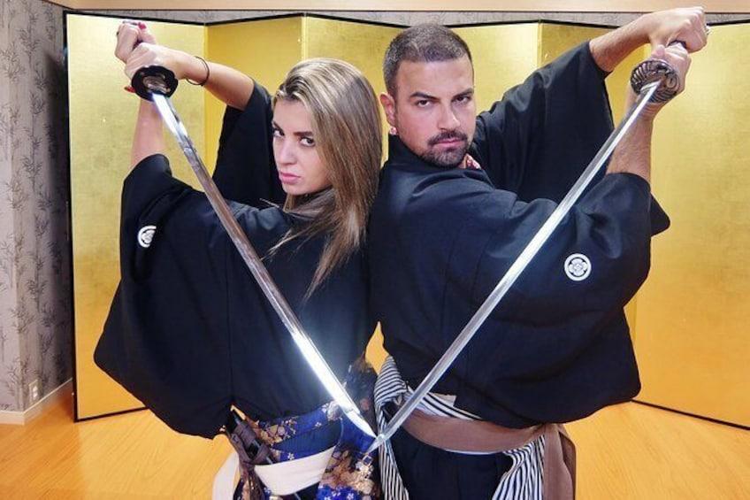 Samurai School in Kyoto: Samurai for a Day