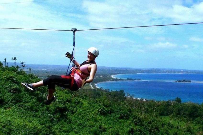 Show item 1 of 10. Vanuatu Jungle - Canopy Treetop Zipline Tour from Port Vila