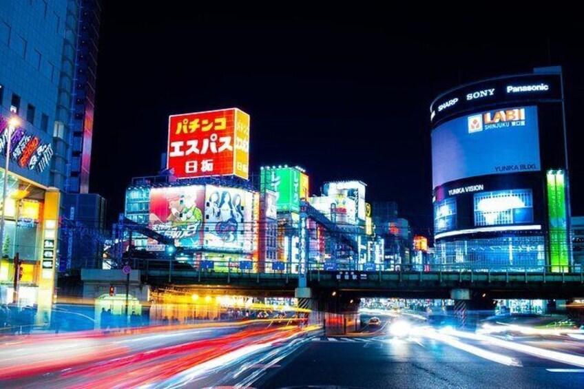 Tokyo Night Photography Tour