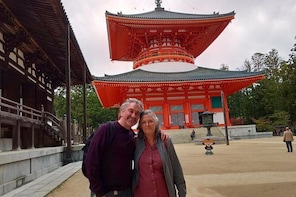 Mt. Koya Full-Day Private Tour (Osaka departure) with Nationally-Licensed G...