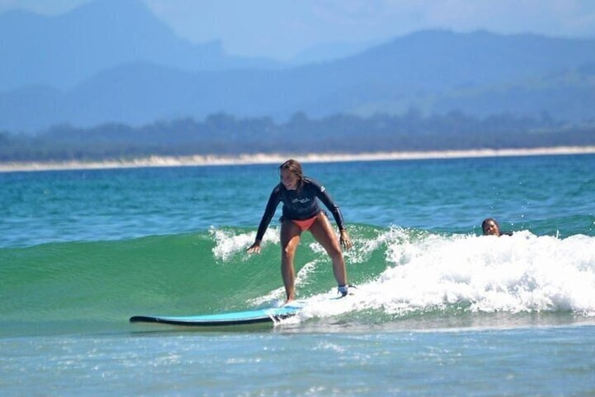Experience The Thrill Half Day Surf School in Byron Bay