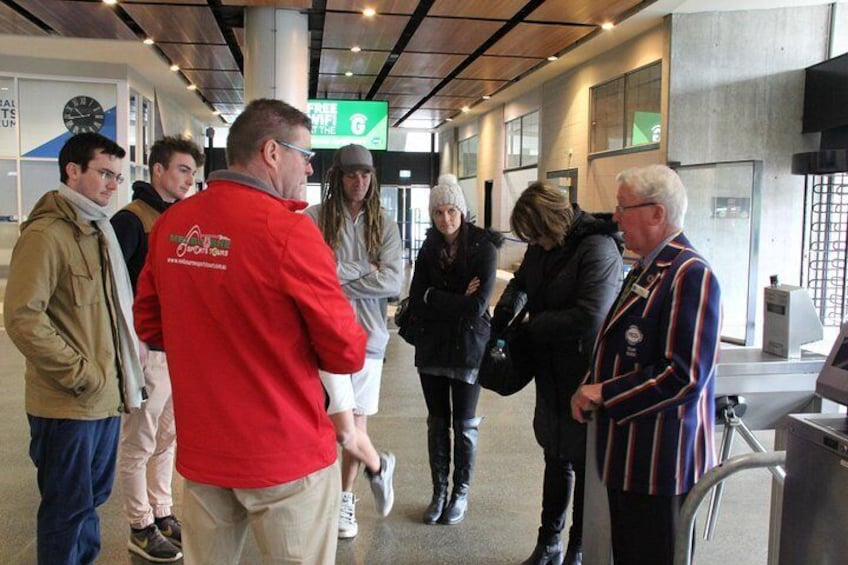 MCG Tour - Sports Lovers Tours of Melbourne