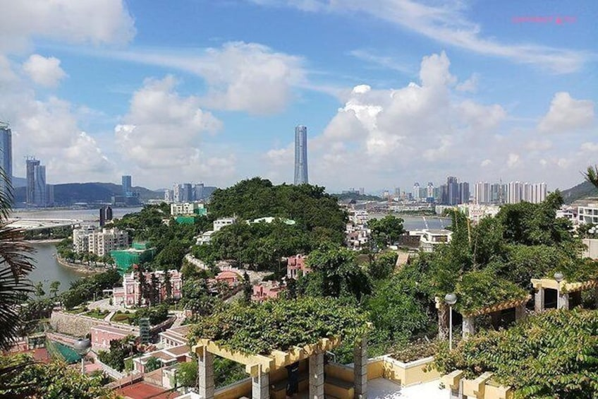 See stunning city view at Penha Hill of which hasty-glance tour will sure be missed