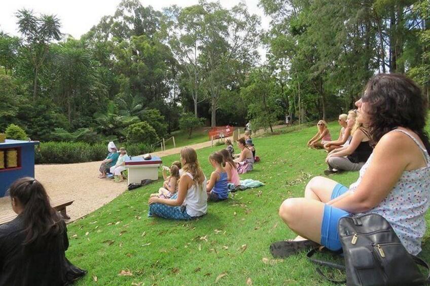 Peace experience meditation