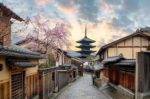Kyoto Full-Day Private Tour (Osaka departure) with Nationally-Licensed Guid...