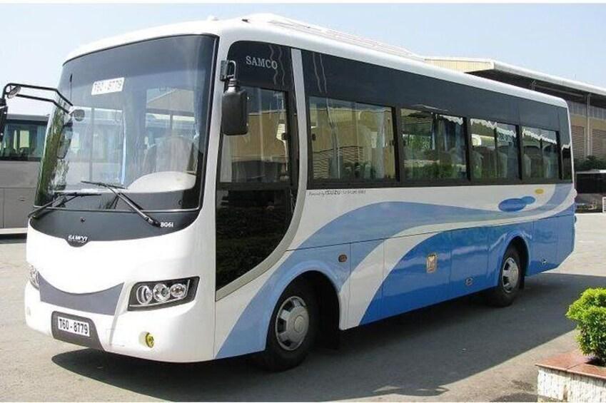 Daily Shuttle Bus from Ninh Binh to Catba Island