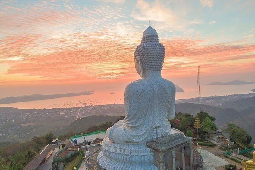 Phuket City Tour with Karon View Point, Big Buddha & Wat Chalong