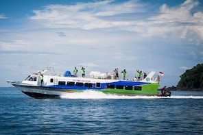 Bali to Gili Trawangan, Air, or Lombok, Fast Boat Round Transfer