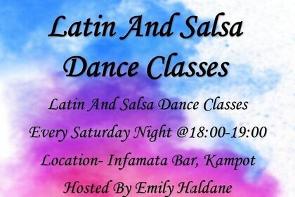 Latin And Salsa Dance Class