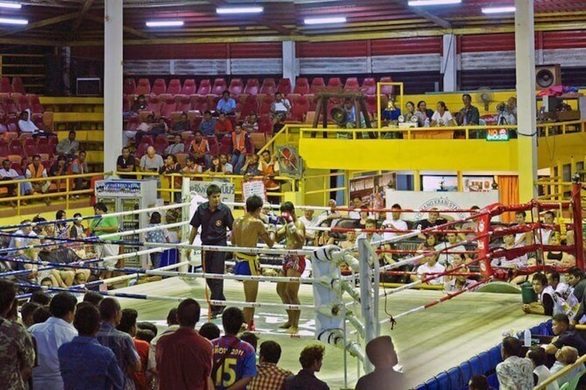 Show item 2 of 8. Ao Nang Krabi Thai Boxing Stadium Admission Ticket with Return Transfer