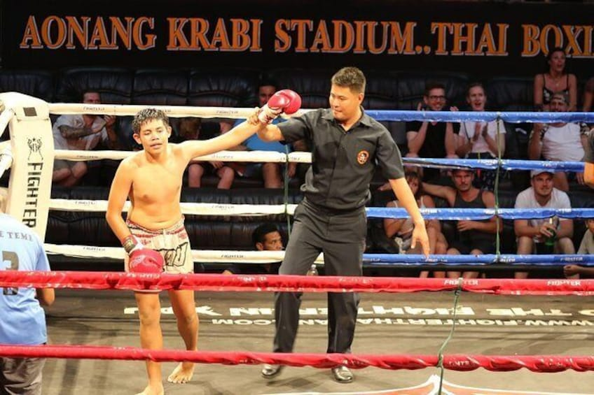Show item 3 of 8. Ao Nang Krabi Thai Boxing Stadium Admission Ticket with Return Transfer