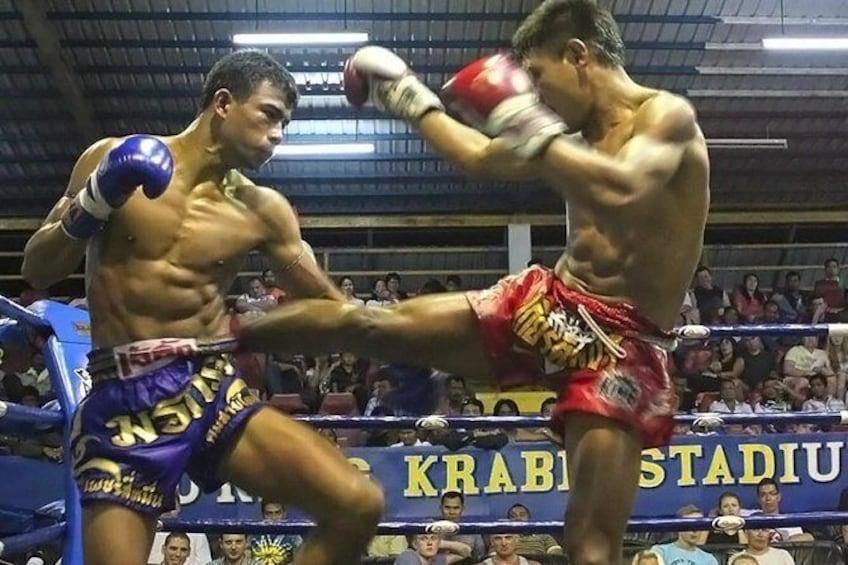 Show item 1 of 8. Ao Nang Krabi Thai Boxing Stadium Admission Ticket with Return Transfer