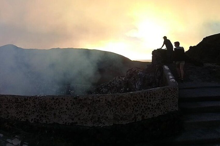 Sunset from Masaya Volcano