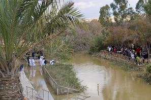 Bethlehem, Jordan River (Qasr al Yahud),Jericho and Dead Sea