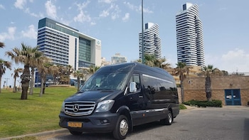 From Tel Aviv: Shuttle to the Dead Sea pickup and return