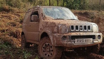 OFF ROAD TOUR - Half Day Single Driver driving experience