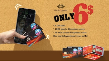 10-Day High-speed 3G/4G Sim Card in Ho Chi Minh City