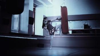 Fanatical boxing lesson at Huk Tti Nederland