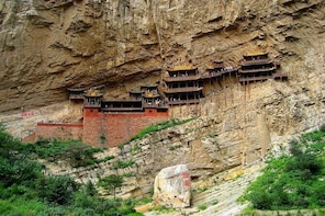 Private Round-Trip Transfer Service to Hanging Temple and Hengshan from Dat...