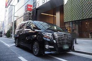 Private arrival Transfer from Osaka Itami Airport(ITM) to central Osaka cit...