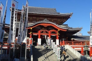 Walking tour: Osu kannon temple, Osu district and its surroundings.