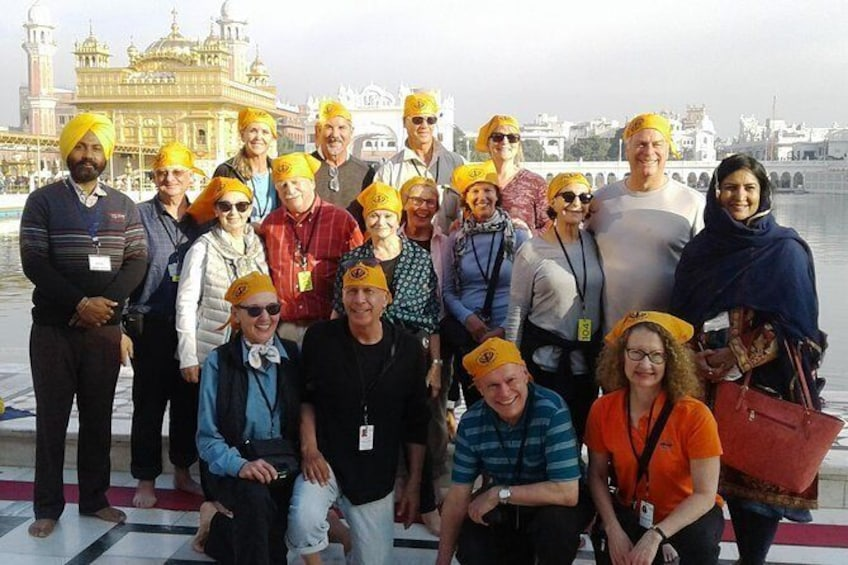 Amritsar 1 Day Tour (Golden Temple, Jalliawala Bagh & Wagah Border)