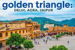 2- Days Golden Triangle Tour to Agra Jaipur from Delhi
