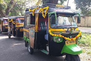 Private Guided Kochi Tuk tuk Tours with Pickup from Cruise Ships !!!