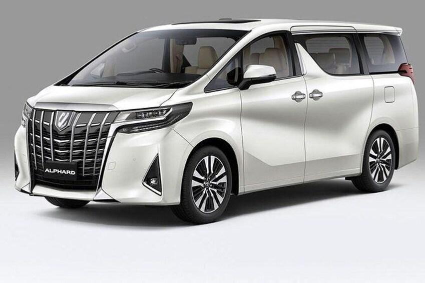 Show item 4 of 6. Premium 7 seater minivan Alphard or similar model