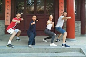 Zhengzhou Private Tour to Shaolin Temple including Kungfu Lesson and Activi...