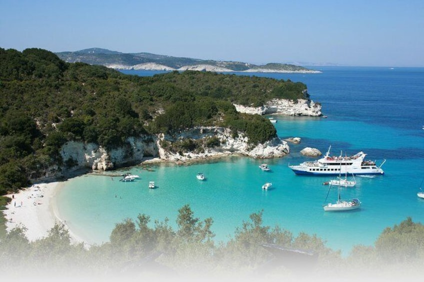 Boat trip to Paxos