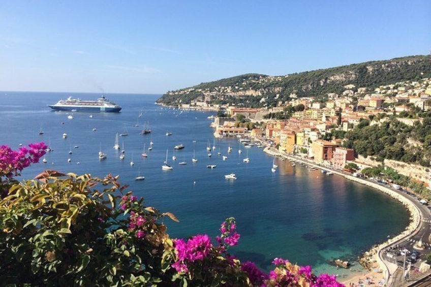 Show item 1 of 9. Private Shore Excursion from Villefranche - Nice: Half day Eastern French Riviera ( 6 hours)