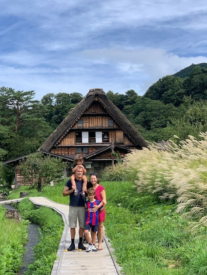Show item 2 of 7. Shirakawago(UNESCO world heritage)/ Onsen / Hiking (1Day)