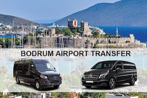 Bodrum Airport BJV Transfers to Torba Hotels