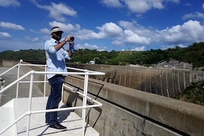 Kariba Dam wall day visit