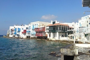 Complete Walking Tour Of Mykonos Town